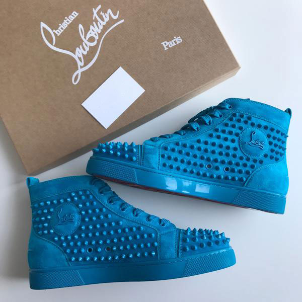 Louis Suede Spikes