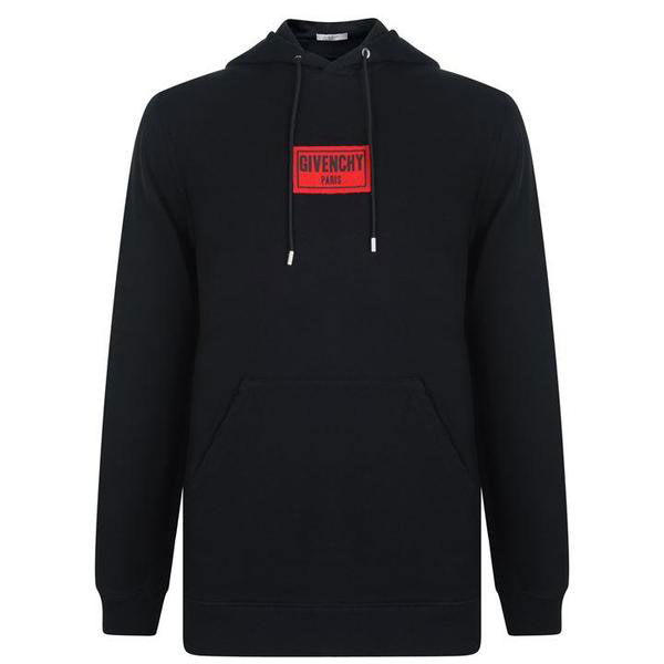 Cuban Box Logo Hooded Sweatshirt