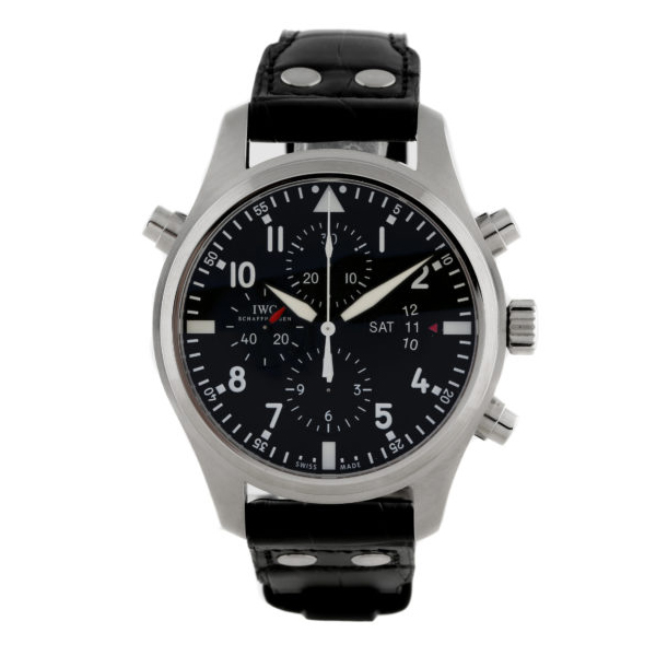 Pilot s Watch Double Chronograph IW3778-01