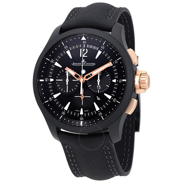 Master Compressor Chronograph Black Dial Men s Watch
